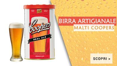 Malti per birra artigianale