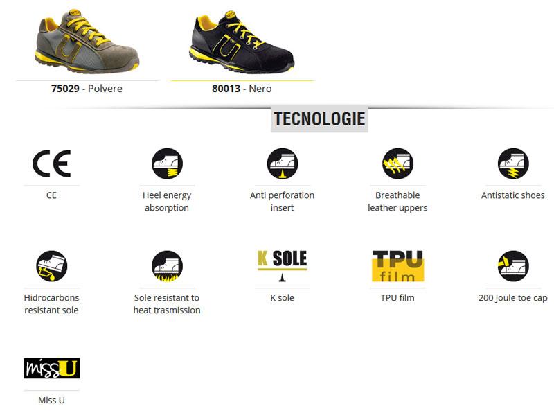 scarpe diadora utility