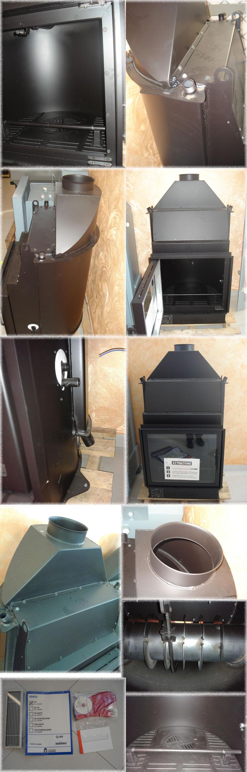 Piano lavabo in legno grezzo - Montaggio termocamino ...
