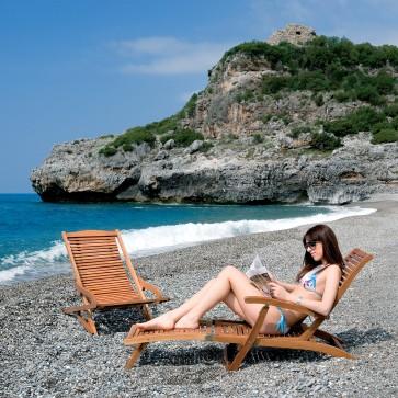 Poltrona In Legno Steamer  Riviera