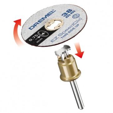 DREMEL® EZ SpeedClic: include 5 dischi da taglio sottili. (SC409)