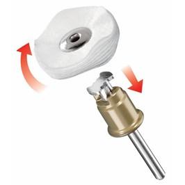 DREMEL® EZ SpeedClic: disco in tessuto per lucidatura. (423S)