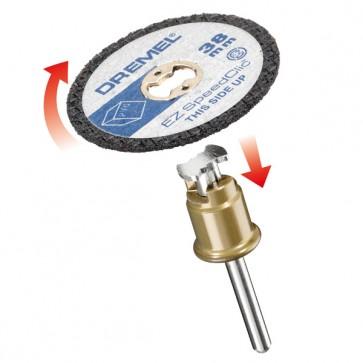 DREMEL® EZ SpeedClic: include 5 dischi da taglio per plastica.  (SC476)