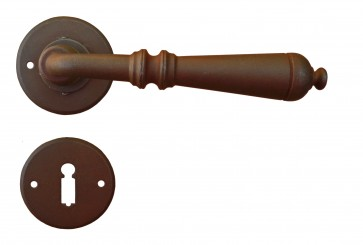 Maniglia Classica per Porta in ferro battuto Galbusera Art.2699 Ruggine