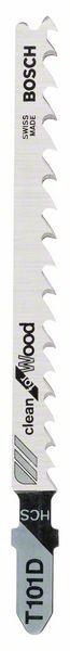 Bosch Lama per seghetto alternativo T 101 D Clean for Wood