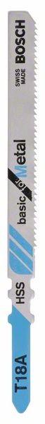 Bosch Lama per seghetto alternativo T 18 A Basic for Metal