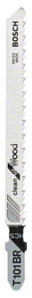 Bosch Lama per seghetto alternativo T 101 BR Clean for Wood