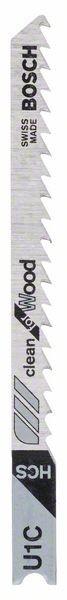 Bosch Lama per seghetto alternativo U 1 C Clean for Wood