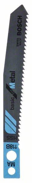 Bosch Lama per seghetto alternativo MA 118 B Basic for Metal