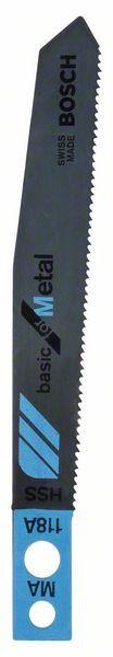 Bosch Lama per seghetto alternativo MA 118 A Basic for Metal
