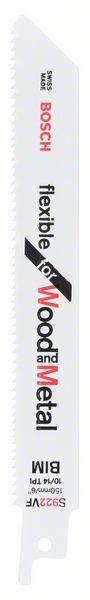 Bosch Lama per sega universale S 922 VF Flexible for Wood and Metal