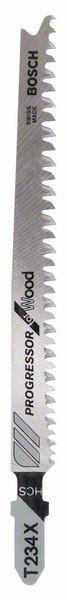 Bosch Lama per seghetto alternativo T 234 X Progressor for Wood