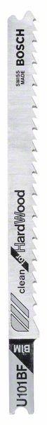 Bosch Lama per seghetto alternativo U 101 BF Clean for Hard Wood