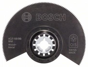 Bosch Lama segmentata BIM ACZ 100 BB, Wood and Metal 100 mm