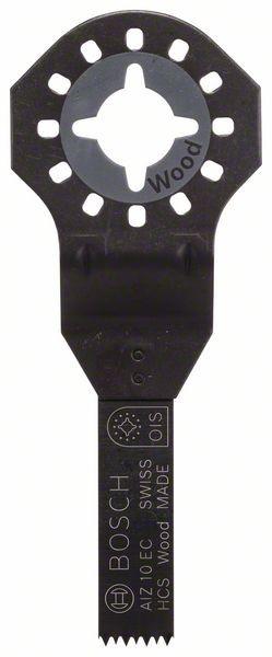 Bosch Lama per tagli dal pieno HCS Wood, AIZ 10 EC 30 x 10 mm