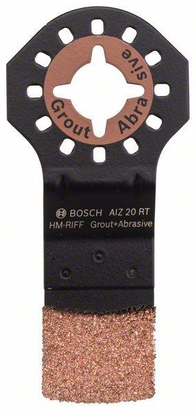Bosch Lama RIFF in metallo duro per tagli dal pieno AIZ 20 RT 20 mm