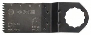Bosch Lama per tagli dal pieno BIM SAIZ 32 BB, Hardwood 40 x 32 mm