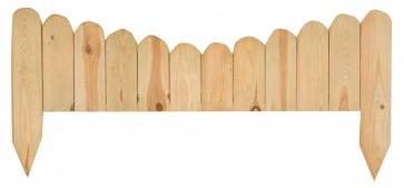 Steccato Recinto Legno Pino Arco cm 110x50