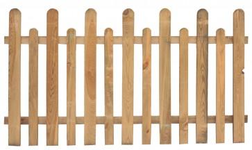 Steccato Recinto Legno Pino cm 175x90 / 100 h