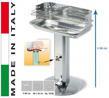 Barbecue Carbone Ompagrill Venus 706/C Pro System H 89 misure 60,5x33