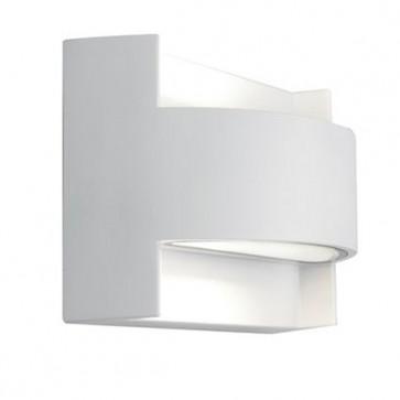 Applique con Emissione in Alto e in Basso Art. 415/02 Bianco/Grigio/Alluminio