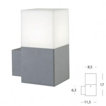 Applique in Alto Art. 484/72 Alluminio