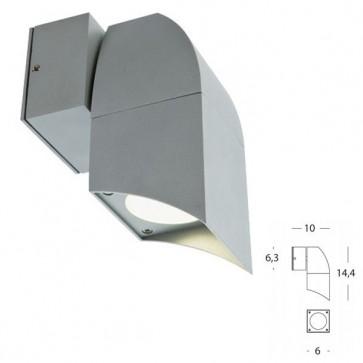 Applique 1 Luce Art. 467/72 Alluminio