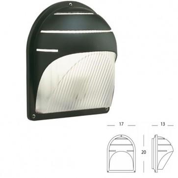 Applique in Basso IP43 Chiocciola Art. 709/16 Grigio