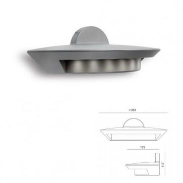 Applique grande con led Art. 99699/72 Alluminio
