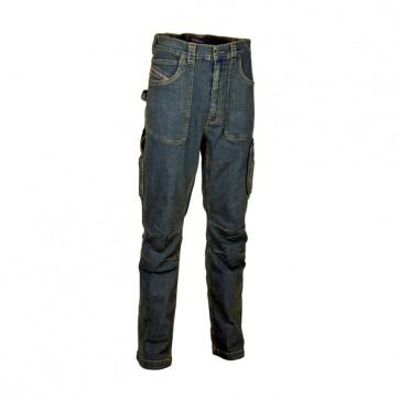 Pantalone di Jeans Lavoro Antifortunistica Cofra Barcelona