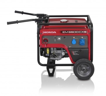 Generatore Elettrico a Motore OHV a 4 Tempi 389cc Honda EM5500CXS2 GT da 3000W Monofase Cyclo-Inverter