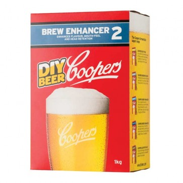 Intensificatore Coopers Brew Enhancer 2 birra artigianale 1kg schiuma corposità zucchero