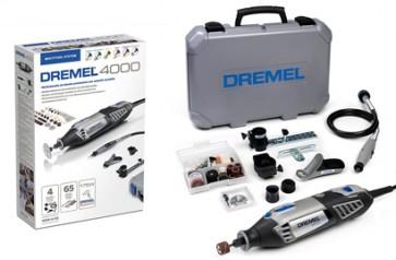 Multiutensile DREMEL 4000JF accessori valigetta albero cappuccio (4000-4/65)