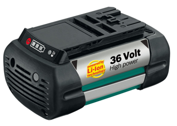 BOSCH BATTERIA AL LITIO HIGH-POWER DA 36V 2,6 Ah PER ROTAK 34-37-43 LI, AHS 54-20LI, AKE 30 LI
