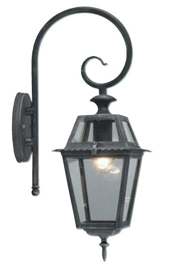 Lanterna  Milano  W.60 con Braccio Grigio Ghisa