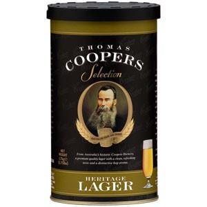 Malto per Birra Artigianale Thomas Coopers HERITAGE LAGER 1,7kg 23 litri