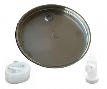 Galleggiante Inox a camera d'aria per Vinolio 200-300 lt- Dim 595 mm Contenitore Alimenti Cordivari