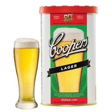 Malto per Birra Artigianale Coopers LAGER 1,7kg 23 litri