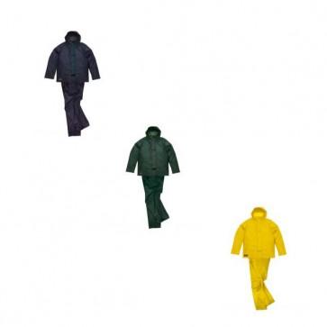 Cappotto+Copripantaloni Lavoro Antifortunistica Cofra Rainfall