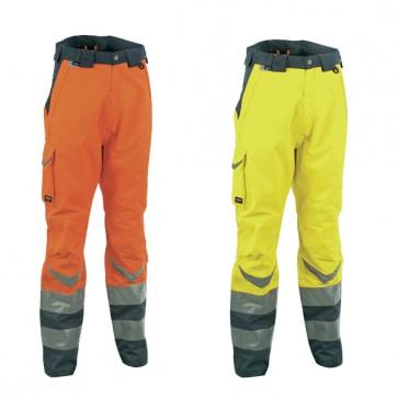 Pantalone Lavoro Antifortunistica Cofra Safe Fluo