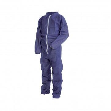 Tuta Lavoro Antifortunistica Cofra Sheer Blu 50Pz