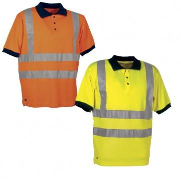 Maglietta Lavoro Antifortunistica Cofra Spotlight Fluo