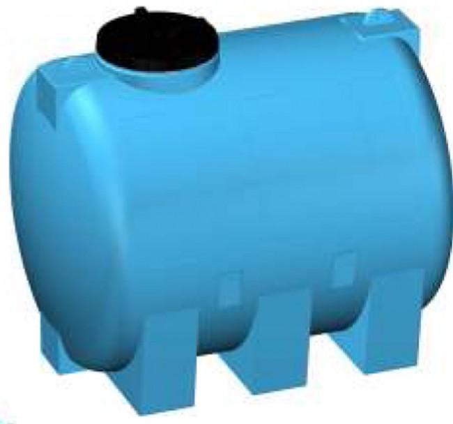 Serbatoio LT 200 300 500 plastica Acqua Potabile Alimentare cisterna polietilene