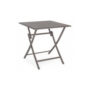Tavolo Pieghevole in Alluminio Bizzotto Elin 70x70cm Ciock LH31
