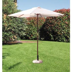 Ombrellone da esterno giardino TONDO in legno palo 38 diametro 250