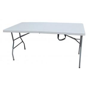 Tavolo In Hdpe Cm.183x76x74 Pieghevole