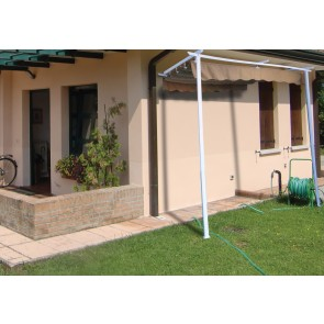 VERANDA giardino 330X250X250 ACCIAIO copertura scorrevole GAZEBO Pergola 14317
