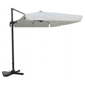 Ombrellone da esterno MAXIMA decentrato 300x400 chisura con manovella