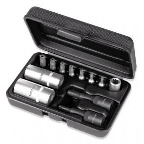 Beta ?Kit per smontaggio valvole impianto aria condizionata con serie di inserti pentalobati 1483 K/12