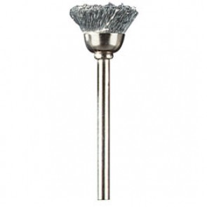 Spazzola in acciaio al carbonio 13 mm (442)